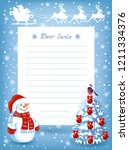 Layout Letter To Santa Claus...