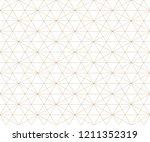 golden lines pattern. vector... | Shutterstock .eps vector #1211352319