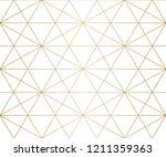 golden lines pattern. vector... | Shutterstock .eps vector #1211359363
