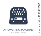answering machine icon. trendy... | Shutterstock .eps vector #1211369506