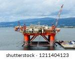 invergordon  scotland   august... | Shutterstock . vector #1211404123