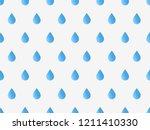 drops pattern. endless... | Shutterstock .eps vector #1211410330