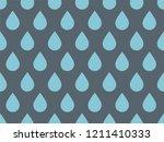 drops pattern. endless... | Shutterstock .eps vector #1211410333