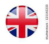the british flag in the form of ... | Shutterstock . vector #121142233