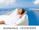 luxury home lifestyle woman... | Shutterstock . vector #1211423203