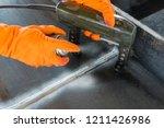 step to non destructive testing ... | Shutterstock . vector #1211426986