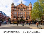 cambridge circus  london ... | Shutterstock . vector #1211428363
