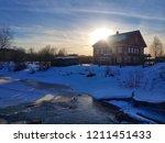 River Pes'  Novgorod Oblast....