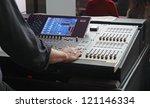 sound mixer | Shutterstock . vector #121146334