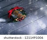 close up view of christmas and... | Shutterstock . vector #1211491006