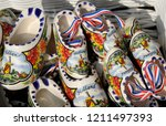 Mini Ceramic Wooden Shoes As...