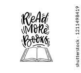 hand drawn lettering phrase... | Shutterstock .eps vector #1211498419