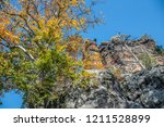 hiking in bohemian switzerland... | Shutterstock . vector #1211528899