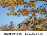 hiking in bohemian switzerland... | Shutterstock . vector #1211528920