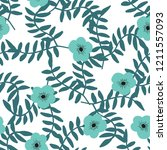 bright seamless pattern with... | Shutterstock .eps vector #1211557093
