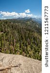 View From Moro Rock Sequoia - Fine Art prints