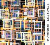 seamless pattern patchwork...   Shutterstock . vector #1211569636