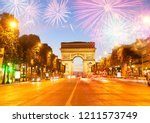 arc de triomphe  paris  france | Shutterstock . vector #1211573749