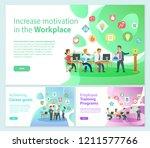 increase motivation on... | Shutterstock .eps vector #1211577766