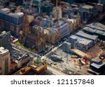Model Melbourne. Tilt Shift...