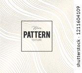 golden waves pattern wallpaper... | Shutterstock .eps vector #1211604109