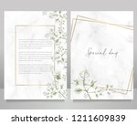 save the date special event...   Shutterstock .eps vector #1211609839