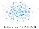dark blue vector layout with... | Shutterstock .eps vector #1211642500