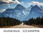 beautiful mountains scenery  | Shutterstock . vector #1211646946