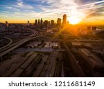 sun burst sun rays across... | Shutterstock . vector #1211681149