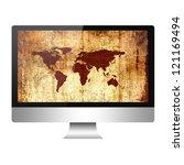 computer | Shutterstock . vector #121169494