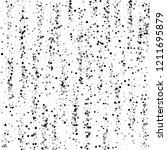scattered dense balck dots.... | Shutterstock .eps vector #1211695879