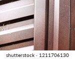 metal texture with scratches... | Shutterstock . vector #1211706130