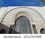 the extravagant beautiful... | Shutterstock . vector #1211747440