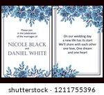 vintage delicate greeting...   Shutterstock .eps vector #1211755396
