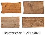 collection of various  empty... | Shutterstock . vector #121175890