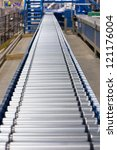 conveyor | Shutterstock . vector #121176004