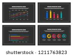 infographic design elements. | Shutterstock .eps vector #1211763823