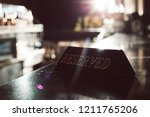 plans for dinner. picture of...   Shutterstock . vector #1211765206