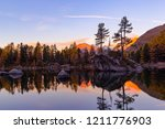 morning glow over the saoseo...   Shutterstock . vector #1211776903