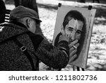 lviv   ukraine   october 06 ... | Shutterstock . vector #1211802736