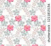 abstract floral background.    Shutterstock .eps vector #1211815156