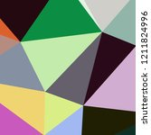 abstract background multicolor... | Shutterstock . vector #1211824996