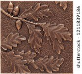 Oak Leaf Wall Decor Or Leaf...