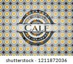 calf arabic badge background.... | Shutterstock .eps vector #1211872036