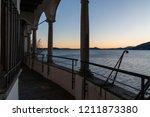 hermitage of santa caterina del ... | Shutterstock . vector #1211873380