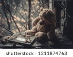 Teddy Bear In An Abandoned...