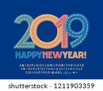 vector original greeting card... | Shutterstock .eps vector #1211903359