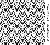 seamless pattern abstract... | Shutterstock . vector #1211932969