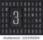 black terminal mechanical...   Shutterstock .eps vector #1211950336