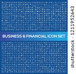 business and office vector icon ... | Shutterstock .eps vector #1211952643